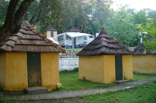 Camping Village Dionysus, Dassia Dafnilas Bay,Corfu,Greece