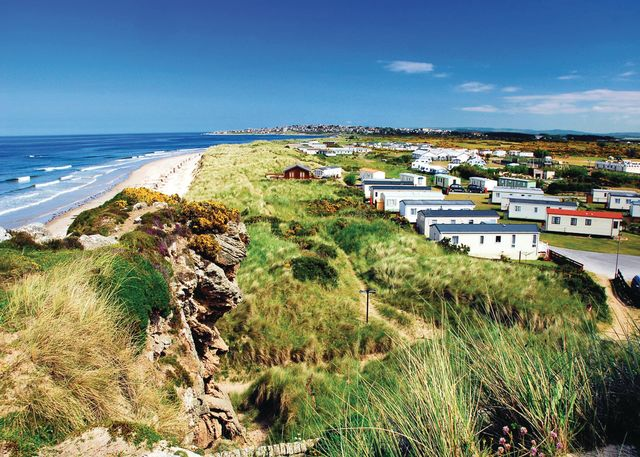 Silver Sands Holiday Park, Lossiemouth,Morayshire,Scotland