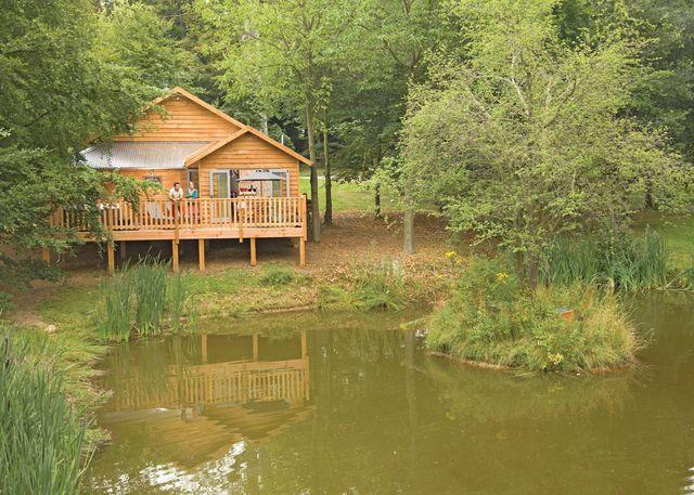 Henlle Hall Woodland Lodges, Gobowen,Shropshire,England